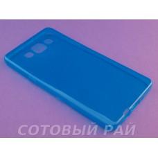 Крышка Samsung A500f (A5) Just Slim Силикон (ГолуБая)
