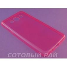 Крышка Samsung J510f (J5-2016) Just Slim силикон (Розовая)
