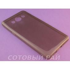 Крышка Samsung J510f (J5-2016) Just Slim силикон (Серая)