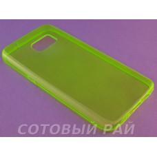 Крышка Samsung G930f (Galaxy S7) Just Slim Силикон (Зеленая)
