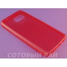 Крышка Samsung G930f (Galaxy S7) Just Slim Силикон (Красная)
