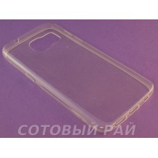 Крышка Samsung G930f (Galaxy S7) Just Slim Силикон (Прозрачная)
