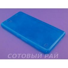 Крышка Sony Xperia C4 (E5303) Just Slim Силикон (ГолуБая)