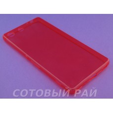 Крышка Sony Xperia M5 (E5633) Just Slim силикон (Красная)