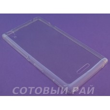 Крышка Sony Xperia T3 (D5103) Just Slim силикон (Прозрачный)