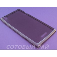 Крышка Sony Xperia T3 (D5103) Just Slim силикон (Серая)