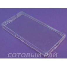 Крышка Sony Xperia Z5 Compact Just Slim силикон (Прозрачная)