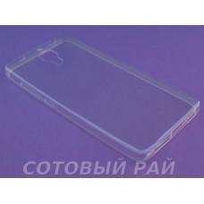 Крышка Xiaomi MI 4 Just Slim силикон (Прозрачная)