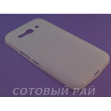 Крышка Alcatel One Touch Pop C9 7047D Just Силикон (Белая)