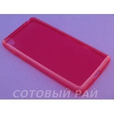 Крышка Sony Xperia E5 (F3311) iBox Силикон (Красная)