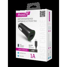 АвтомоБильное Зарядное Устройство Partner + каБель Micro Usb (1A)