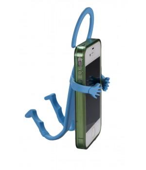 Держатель универсальный Mr.Flex силиконовый гиБкий (ГолуБой)