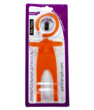 Держатель универсальный Mr.Flex силиконовый гиБкий (Оранжевый)