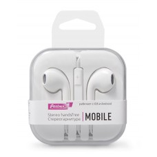Гарнитура EuroPods Partner Mobile (Белые) с микрофоном и пультом