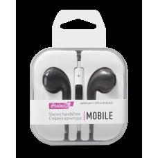 Гарнитура EuroPods Partner Mobile (Черные) с микрофоном и пультом