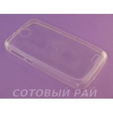Крышка HTC Desire 310 (V1) Just Slim (Прозрачная)