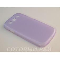 Крышка Samsung i9300 (S3) Just Slim Силикон (Фиолетовая)