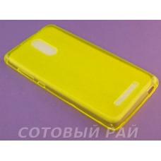 Крышка Xiaomi RedMi Note 3 / Note 3 Pro Just Slim силикон (Желтая)
