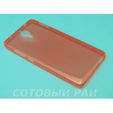 Крышка Xiaomi MI 4 Just Slim силикон (Красная)