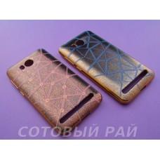Крышка Huawei Y3     Just Colour (Паутина)