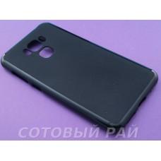 Крышка Asus Zenfone 3 Max (ZC553KL) Just Slim (Черная Матовая)