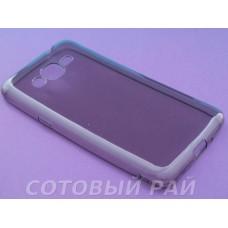 Крышка Samsung G532f (J2 Prime) Just Slim Силикон (Серая)