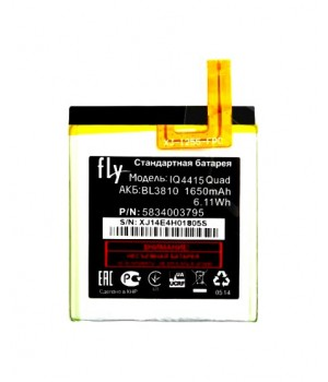 Аккумулятор Fly BL3810 IQ4415 Quad Era Style 3 (1750mAh) Partner