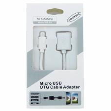 Переходник Micro Usb-Usb (Otg Cable) KS-05 в короБке