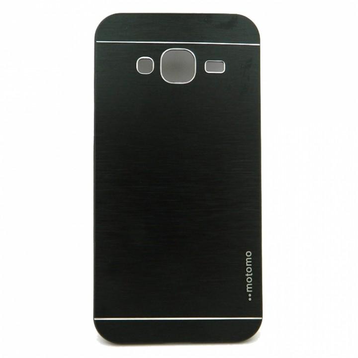 Крышка Samsung J300/J320 (J3/J3-2016) Motomo (Черная)