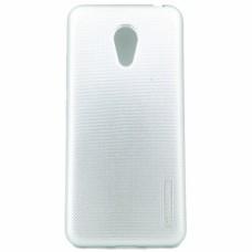 Крышка Meizu M3 Mini (M3s,Meilan 3) Motomo Силикон (СереБряная)