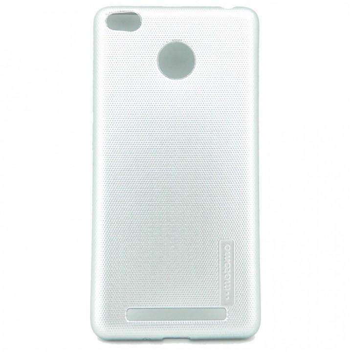 Крышка Xiaomi RedMi 3s / 3 Pro Motomo Силикон (СереБряная)