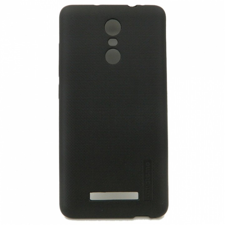 Крышка Xiaomi RedMi Note 3 / Note 3 Pro Motomo Cиликон (Черная)