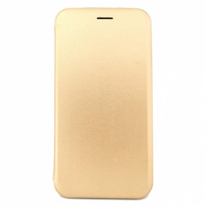 Чехол-книжка Apple iPhone 5/5S Lago Premium (Золотая)