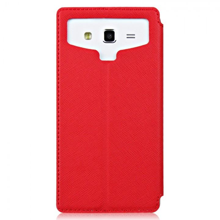 Унив чехол Book-Case Partner с липкой основой 4,8 дюйма (Красный)
