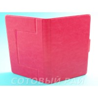 Сумка для Планшета 7 дюймов (Силикон держатель с магнитом) Розовая