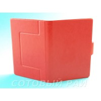 Сумка для Планшета 7 дюймов (Силикон держатель с магнитом) Красная