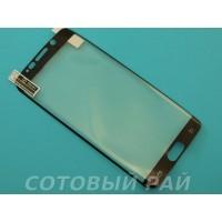 Защитная пленка Samsung G928x (S6 Edge Plus) Brauffen (Черная)
