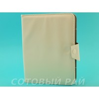 Сумка для Планшета 8 дюймов (КраБы с магнитной застежкой) Белая
