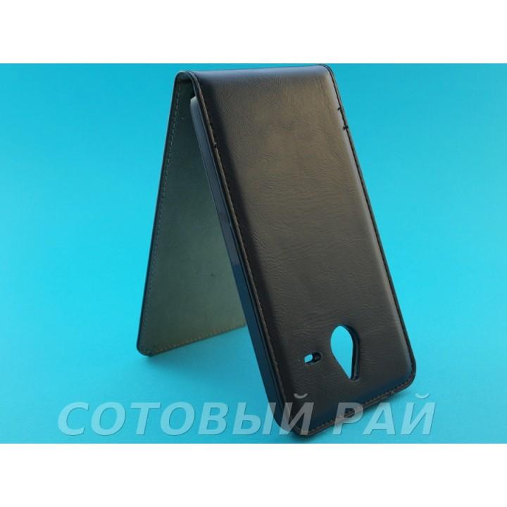 Чехол-книжка Nokia 640 XL Microsoft Silikon (Черный)