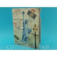 Чехол-книжка iPad 2 / iPad 3 Koweida (Статуя СвоБоды)