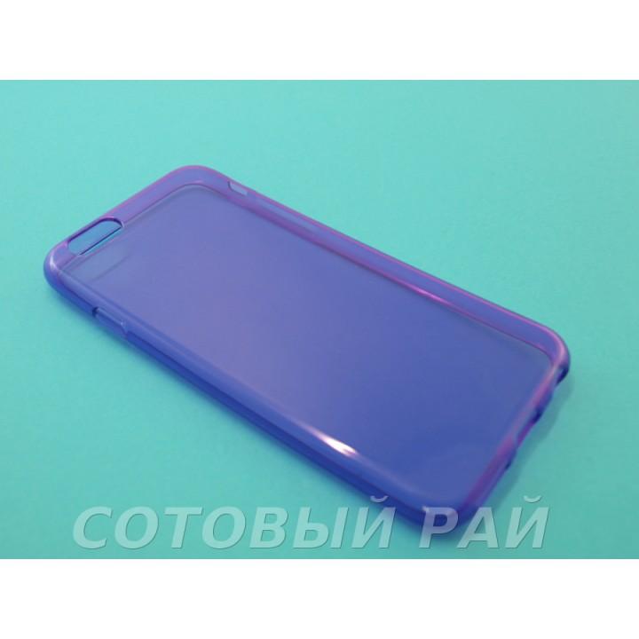 Крышка Apple iPhone 6 / 6s Силиконовая Just Slim (Фиолетовая)
