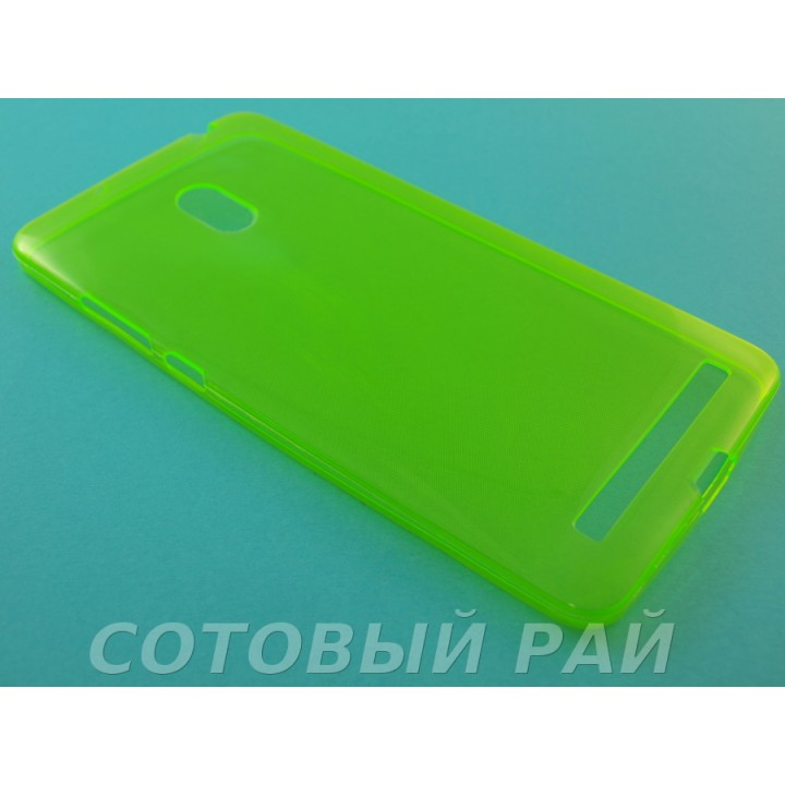 Крышка Asus Zenfone 6 (A600CG) Just Slim (Зеленая)