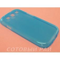 Крышка Samsung i9300 (S3) Just Slim Силикон (ГолуБая)