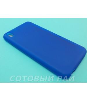 Крышка HTC Desire 816 Just Силикон (Синяя)