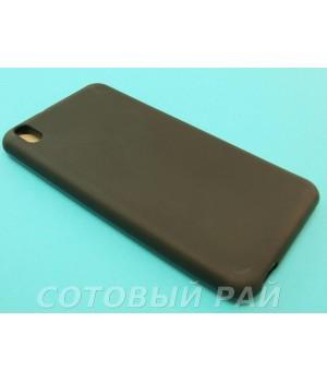 Крышка HTC Desire 816 Just Силикон (Черная)