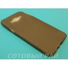 Крышка Samsung A800f (A8) Just Силикон (Серая)