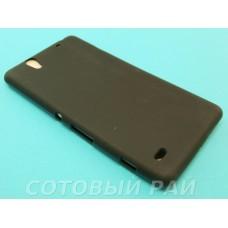 Крышка Sony Xperia C4 (E5303) Just Силикон (Черная)
