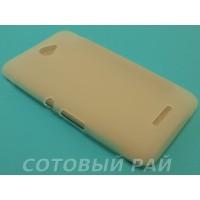 Крышка Sony Xperia E4 (E2115) Just Силикон (Белая)