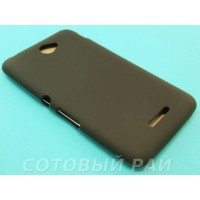 Крышка Sony Xperia E4 (E2115) Just Силикон (Черная)