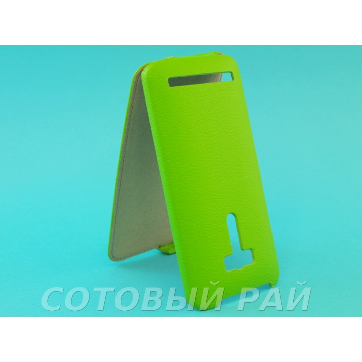 Чехол-книжка Asus Zenfone Selfie (ZD551KL) AIS (Зеленый)
